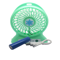 High quality small rechargeable battery Mini fan